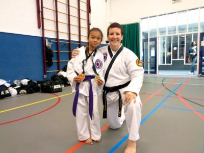 Taekwondo Tournament in Rotterdam