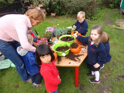 Early Years gardening