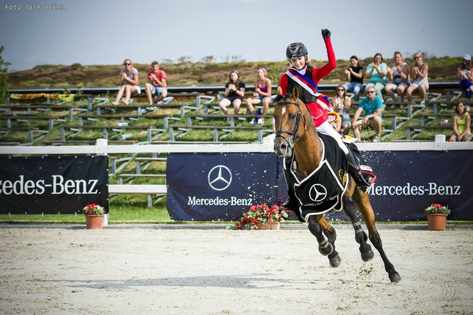 Katka Wins the Czech Equestrian Championship