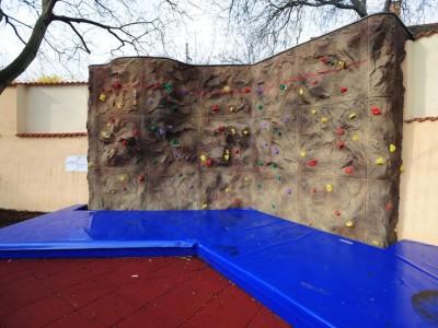 Rock Climbing Wall at the Junior High