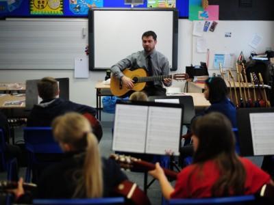 Junior High Music Classroom