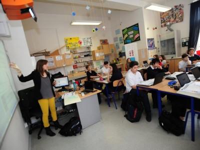 Junior High Classroom