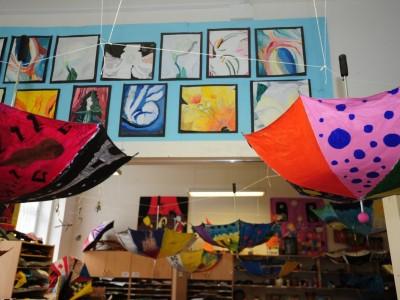 Junior High Art Room