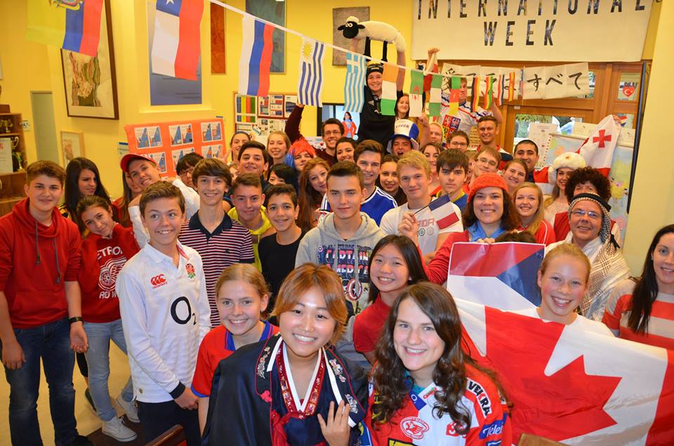 International Week at the Senior High