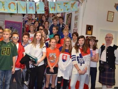 International Week at the Junior High 2014