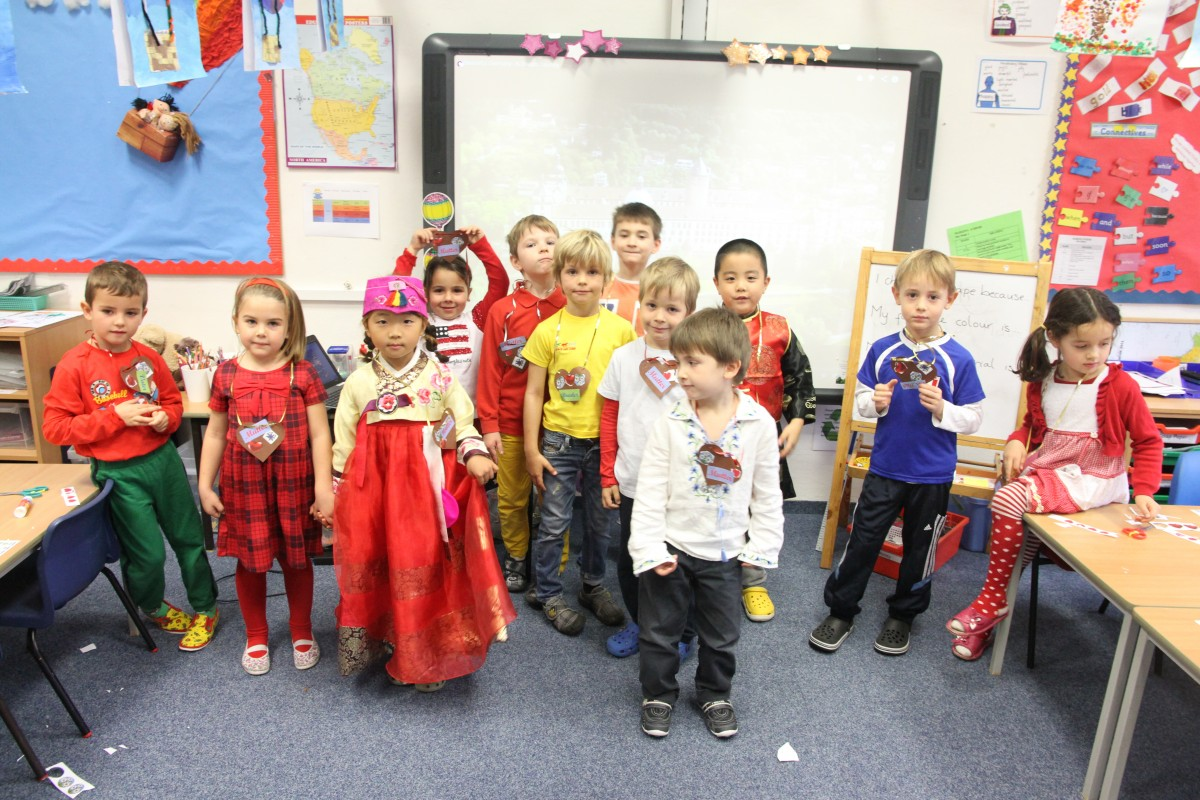 Culture Day in the Primary