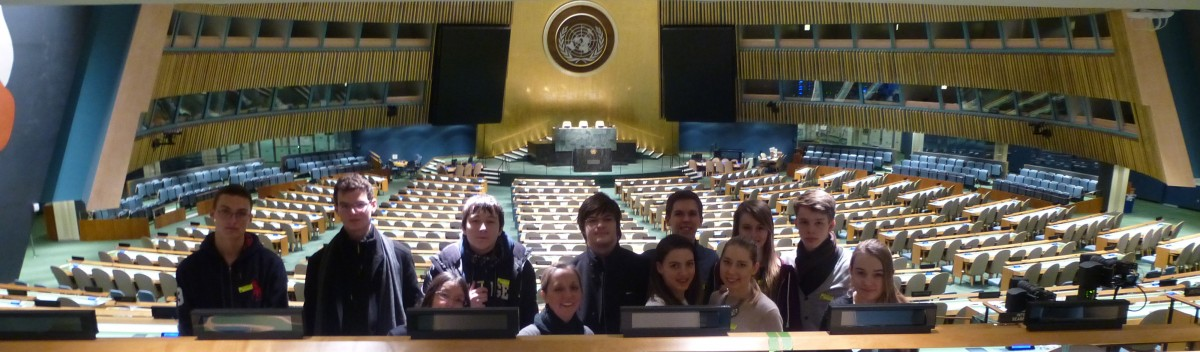Model UN Trip to Yale and the United Nations