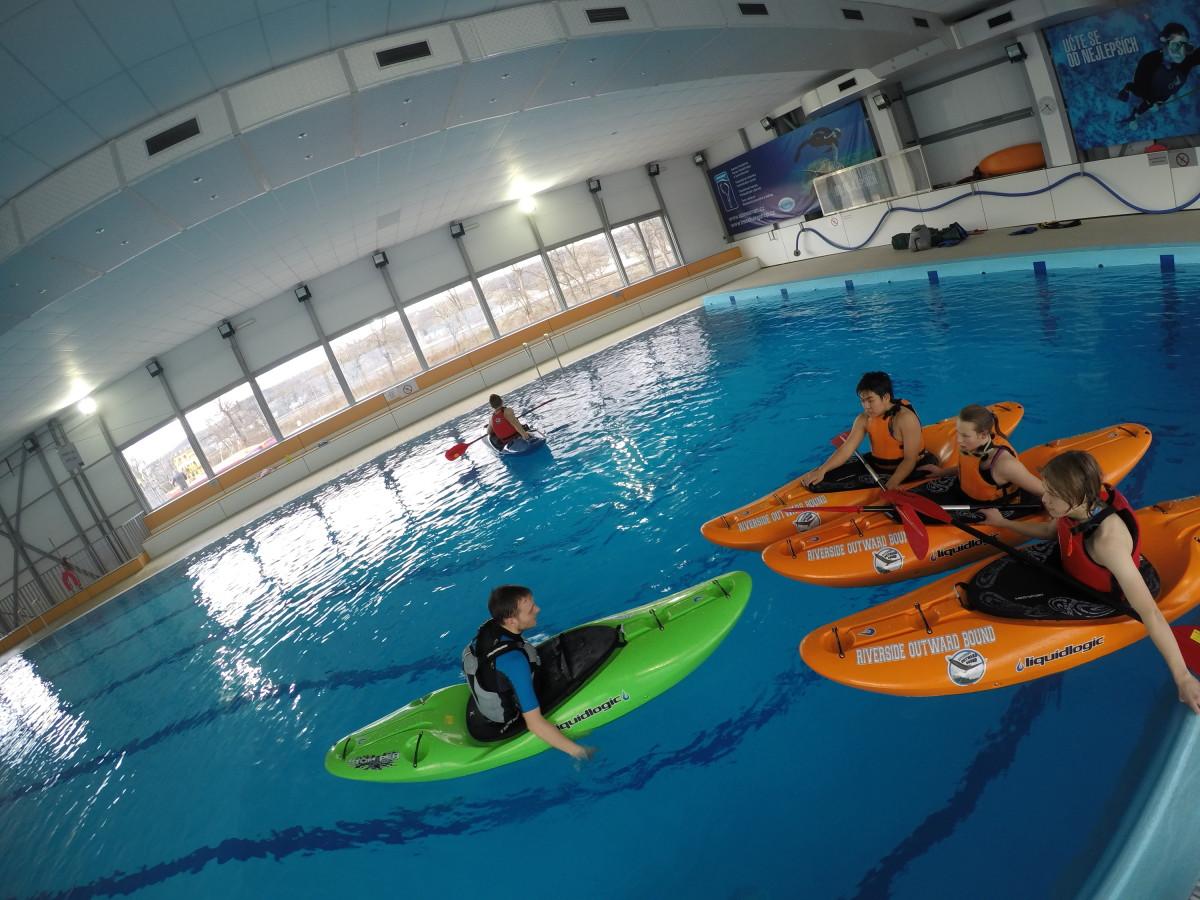 Senior High Kayakers