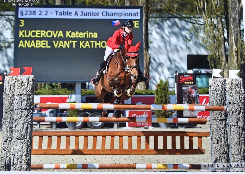 Katerina Advances to European Championship!