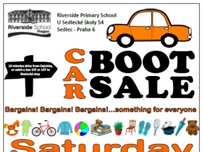 Car Boot sale 2015 poster
