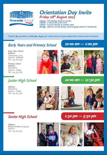 Orientation Day Invite 2015