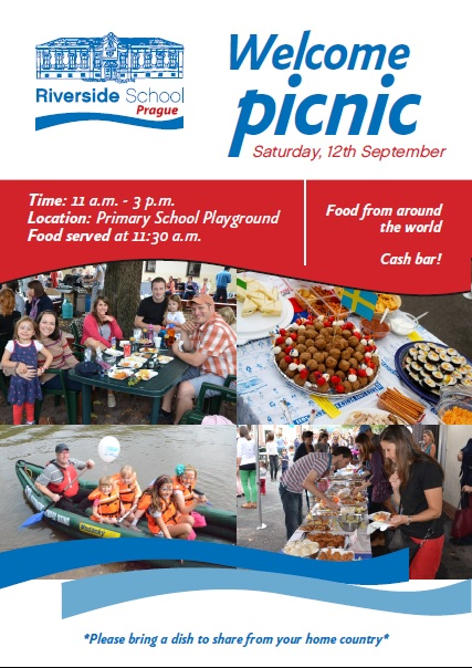 Poster Welcome Picnic 2015