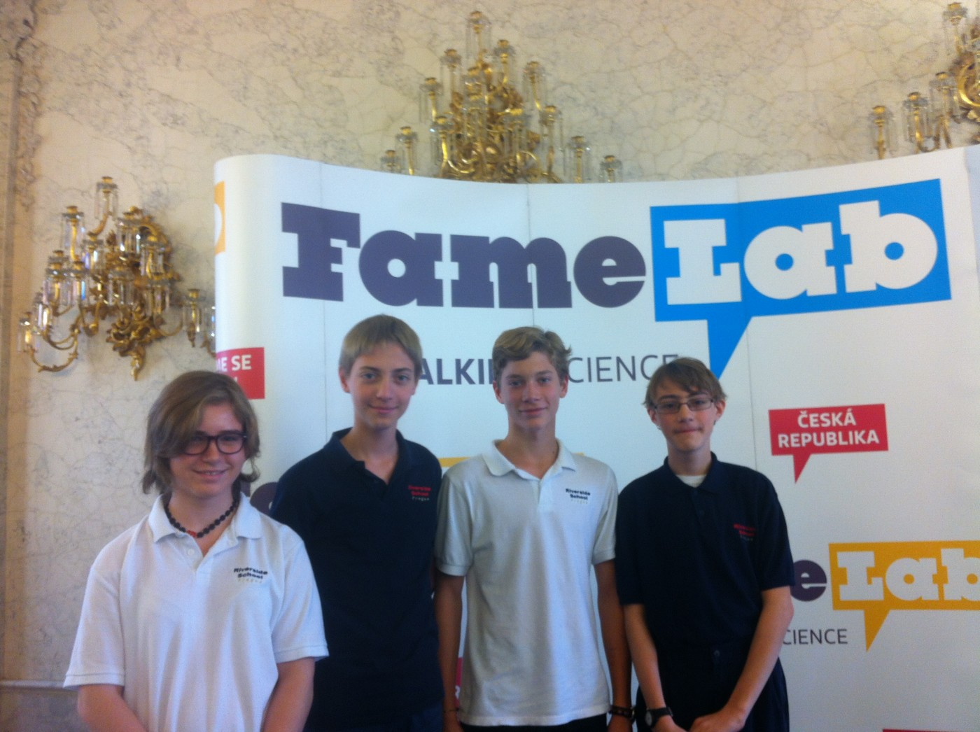 Junior High Students at the FameLab 2015