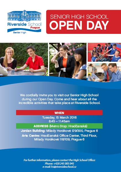 Open Days - Senior High and Early Years