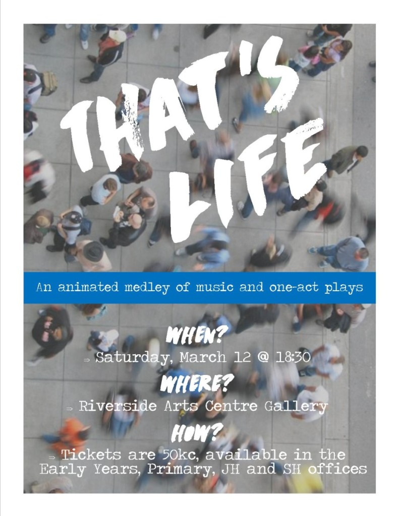 Thats Life Poster