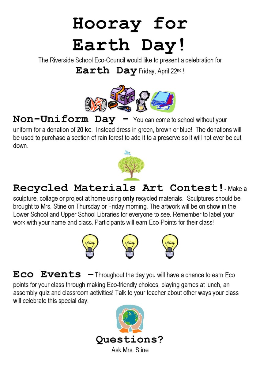 Earth Day in Primary School