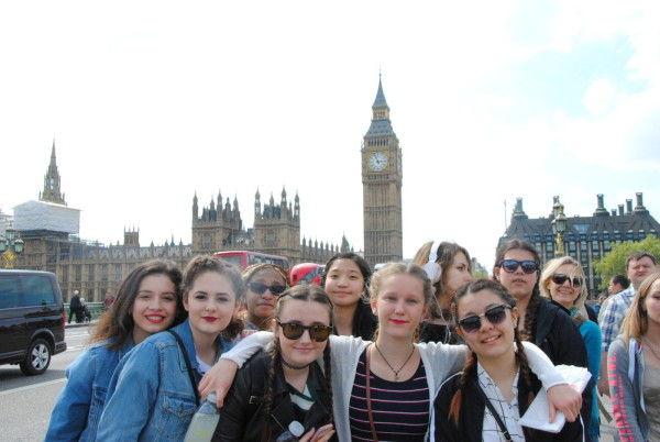 English and Drama Shakespeare Trip to England