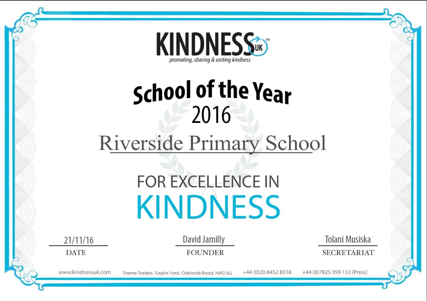 Kindness-Award
