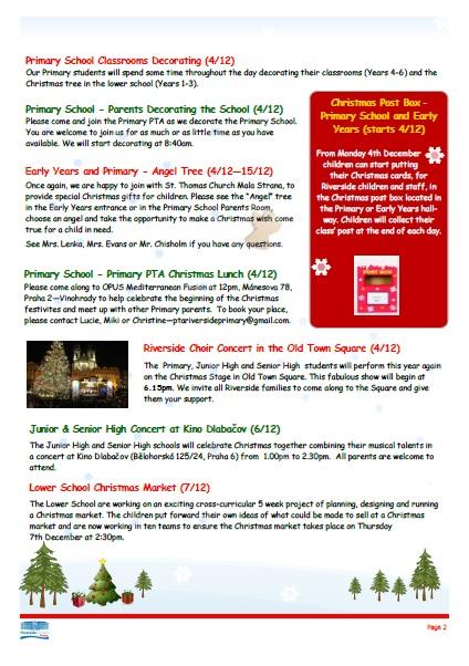 Christmas Events at Riverside School - Riverside ...