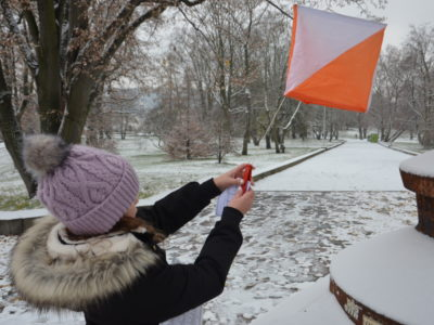 Photo for the article Junior High – Orienteering at Letna